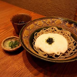 冷たい蕎麦  大和芋とろろ(蕎や 月心 (つきごころ))