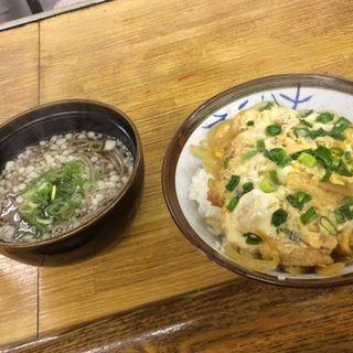 玉子丼セット(おたべや )