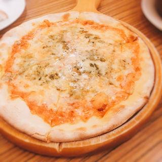 ブルーチーズと蜂蜜のピッツァ(ヴィーニャ ヴァン ヴィーノ (Vina Vin Vino))