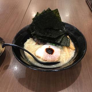 釜炊き豚骨ラーメン(品川製麺所 新宿2丁目店 )