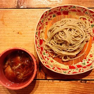 炙り鴨汁蕎麦(じじ )