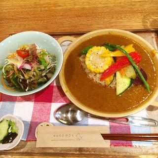 薬膳カレーセット(天然食堂 かふぅ )