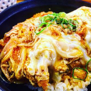 カツ丼(おぐまうどん )