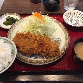 ランチ ロースカツ定食(とんかつ かついち 新百合ヶ丘店)