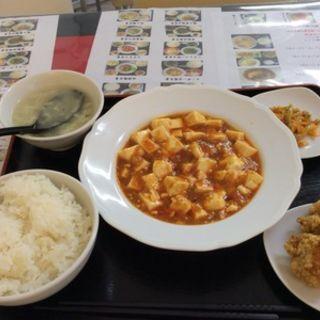 麻婆豆腐定食(天和 (テンホウ))