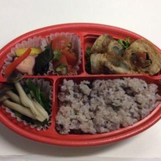 お野菜ぐるぐる肉巻き弁当(プラスメディ LUCUA店 (+medi))