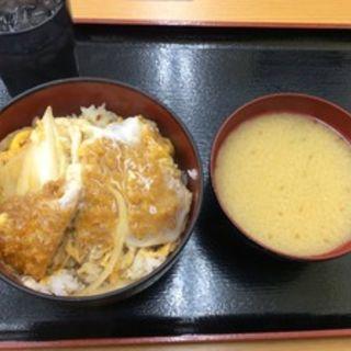 カツ丼(味噌汁付)(もとや 南店 )