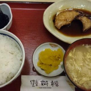 ブリの照り焼きサービス(えびす食堂 )