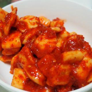 白菜と大根のキムチ(キムチのミズノ 韓国料理 虎の穴 )