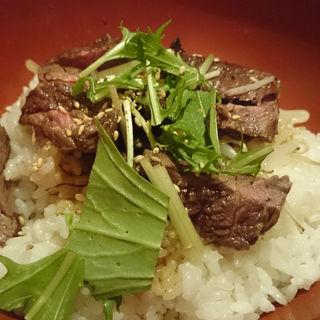 ステーキ丼(あんばい なんばパークス店 )