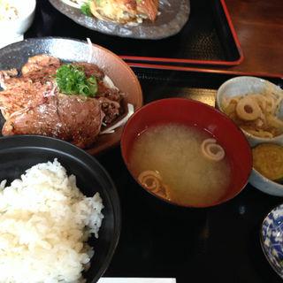 ハラミ焼き定食(一風雷蔵 難波店 (いっぷうらいぞう))
