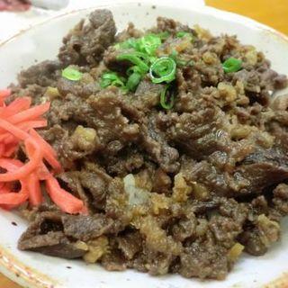馬肉めし(さくら食堂 )