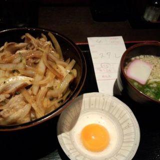 スタミナ極丼ランチ(極丼亭 上本町ハイハイタウン店 (GOKUDONTEI))