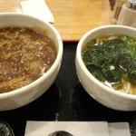 カレー丼とうどん(大阪うどん・そば てんま )