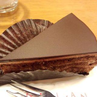 チョコレートケーキ(蘭館珈琲ハウス 堺高島屋 アップル店 )