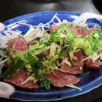 牛肉のたたき(菅紀家 (スガキヤ))