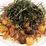 地中海野菜の中華風スパ
