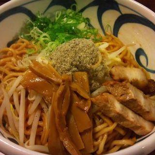 油そば大盛り(麺鮮醤油房 周月 )