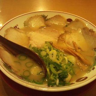 チャーシュー麺(ハーフ)(天下一品 難波ウインズ前店 )