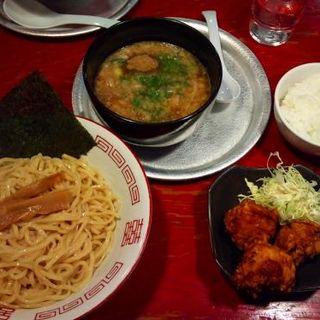 もりそば(つけめん)醤油だれ1.5玉 太麺(牡丹 難波店 )