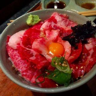 大トロ飯(やきにく萬野 本店 )