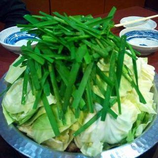 モツ鍋(新世界 もつ鍋屋 なんば店 (しんせかいもつなべや))