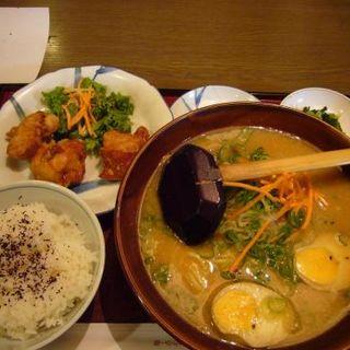 鳥の唐揚げ定食(味噌味)(古潭 堺タカシマヤ店 (こたん))