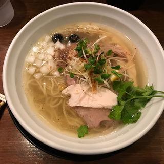 塩ラーメン(鰹)(麺のようじ 海(SEA))