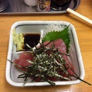 神戸中央市場直送のマグロ(立ち呑み しゅう)