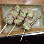 マグロトロ串焼き