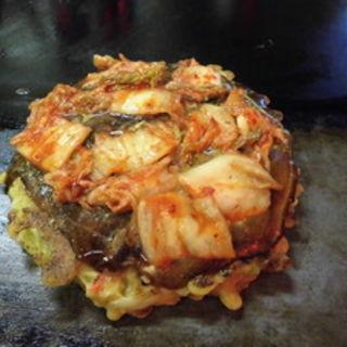 キムチ豚玉(お好み焼き ちとせ )
