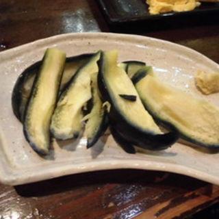 泉州水茄子ヌカ漬(飲喰処 直 (ナオ))