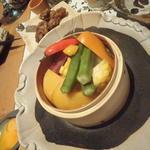 旬菜バーニャカウダ 野菜6種