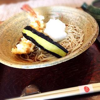 海老天おろし蕎麦(あんばい )