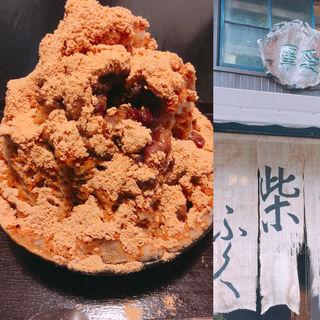 黒柴金時ミルク(柴ふく (カンミドコロシバフク))
