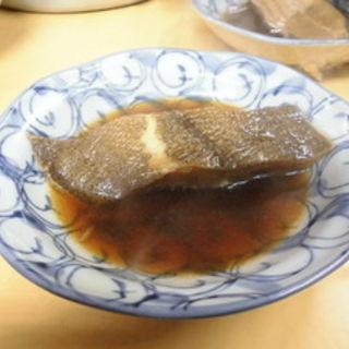 カレイの煮付(みつわや酒店 )