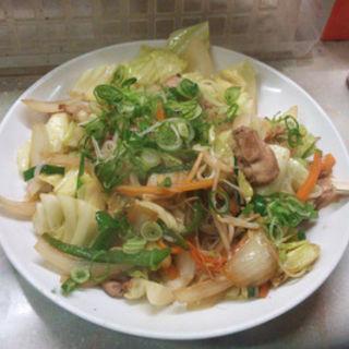 野菜炒め(立呑み きむらや )