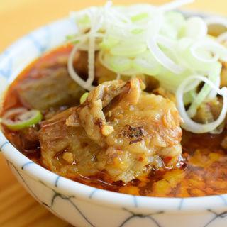 牛すじ煮大根入り(醤油味)(もつくし )