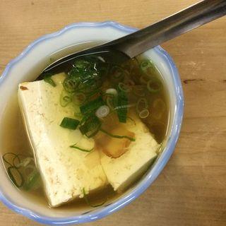 湯豆腐(丸萬 (まるまん))