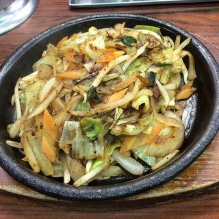 野菜炒め(花の山 )