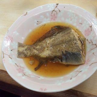 カレイの煮付け(天満酒蔵 (てんまさかぐら))