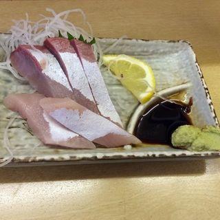 ハマチの刺身(赤ひげ 姉妹店 (あかひげ))
