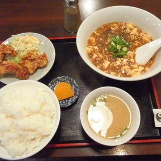 麻婆豆腐のセット(きんちゃん )