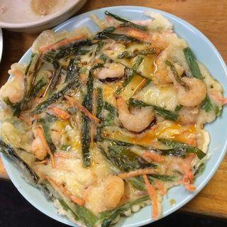 海老チジミ(でんいち )