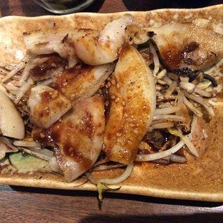 豚ツラミ焼き(七津屋 ホワイティ梅田店 )