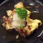 名物の角煮の天ぷら