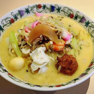 特製什景湯麺(王さんの特上ちゃんぽん)(江山楼 本店 )