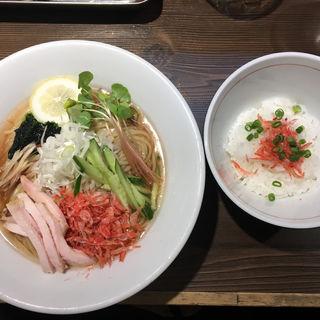 海老出汁冷やしそば中盛り(つけ麺一燈 (ツケメンイットウ))
