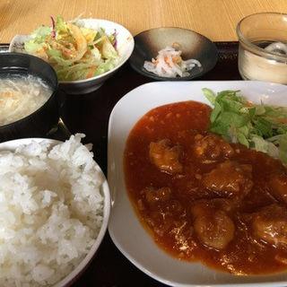 4鶏チリ(四川酒楼 (シセンシュロウ))