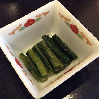 野沢菜わさび漬け(黒ねこ )